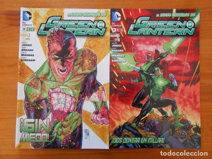 Cómics: GREEN LANTERN - Nº 1 A 5 - GEOFF JOHNS - NUEVO UNIVERSO DC - ECC (BE) - Foto 3 - 198311765