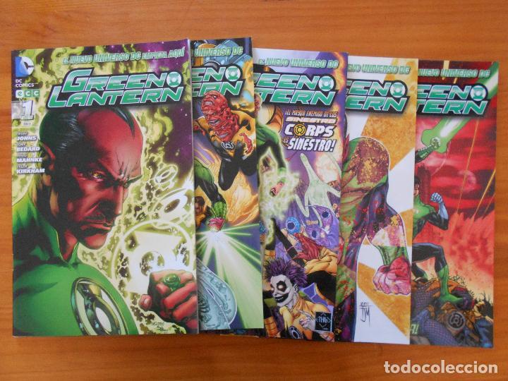 GREEN LANTERN - Nº 1 A 5 - GEOFF JOHNS - NUEVO UNIVERSO DC - ECC (BE) (Tebeos y Comics - Comics otras Editoriales Actuales)
