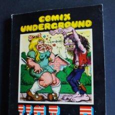Cómics: CÓMIC COMIX UNDERGROUND USA Nº 3 EDITORIAL FUNDAMENTOS AÑO 1976. Lote 198478603