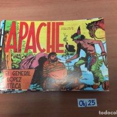 Cómics: APACHE. Lote 198494908