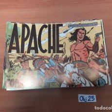 Cómics: APACHE. Lote 198494927