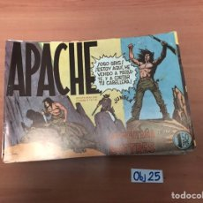 Cómics: APACHE. Lote 198494937