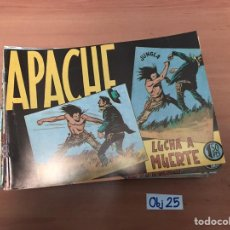 Cómics: APACHE. Lote 198495053