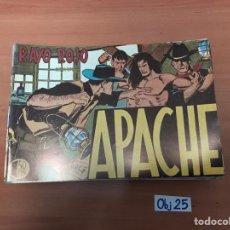 Cómics: APACHE. Lote 198495091
