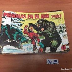 Cómics: PIRAGUAS EN EL RÍO. Lote 198495122