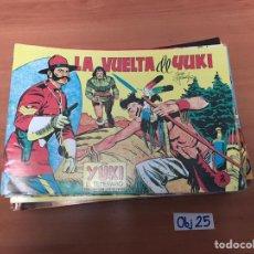 Cómics: LA VUELTA DE YUKI. Lote 198495125