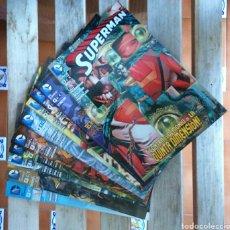 Cómics: SUPERMAN NUEVO UNIVERSO DC LOTE DE 10 COMIC. Lote 199003070