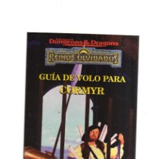Cómics: REINOS OLVIDADOS GUIA DE VOLO PARA CORMYR. Lote 199107170