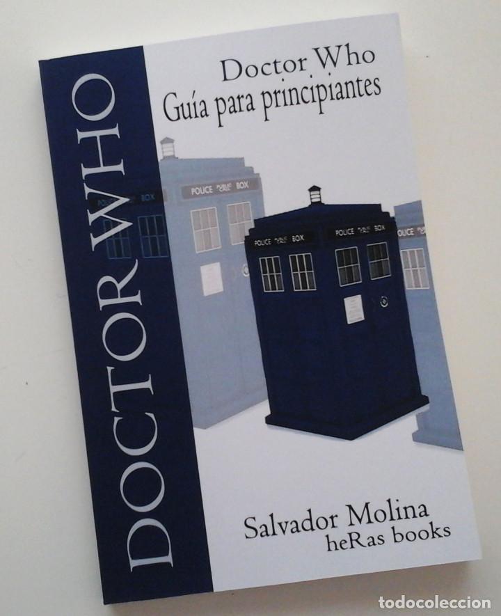 DOCTOR WHO, GUÍA PARA PRINCIPIANTES. LIBRO SOBRE LA SERIE DE TV. DISPONIBLE (Tebeos y Comics Pendientes de Clasificar)