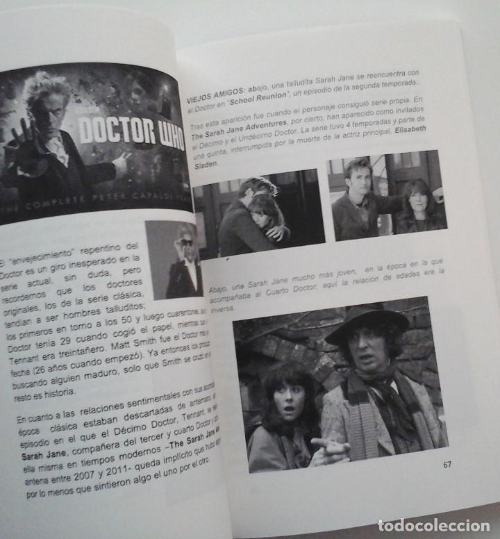 Cómics: Doctor Who, guía para principiantes. Libro sobre la serie de TV. Disponible - Foto 2 - 278422833
