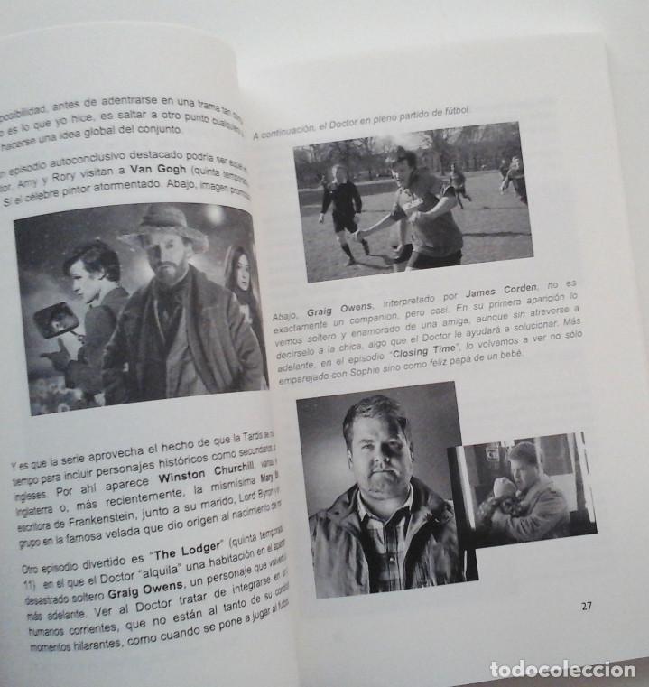 Cómics: Doctor Who, guía para principiantes. Libro sobre la serie de TV. Disponible - Foto 3 - 278422833