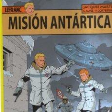 Cómics: LEFRANC MISION ANTARTICA. Lote 199110640