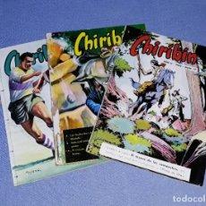 Cómics: 3 EJEMPLARES COMICS CHIRIBIN ORIGINALES AÑOS 60 EN MUY BUEN ESTADO DE CONSERVACION. Lote 199162082