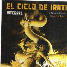 Cómics: EL CICLO DE IRATI INTEGRAL J,MUÑOZ OTAEGI. Lote 199208201