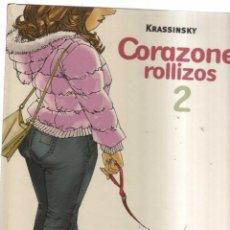 Cómics: CORAZONES ROLLIZOS N,2 KRASSINKY. Lote 199208576
