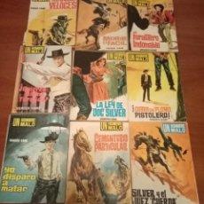Fumetti: LOTE DE 18 BOLSILIBROS UN HOMBRE MALO TESORO LOTE 42. Lote 199239157