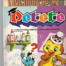 Cómics: REVISTA PETETE. Nº 85. CON SUPLEMENTO LARGUIRUCHO. (B/A57). Lote 199244103