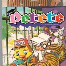 Cómics: REVISTA PETETE. Nº 87. CON SUPLEMENTO LARGUIRUCHO. (B/A57). Lote 199244253