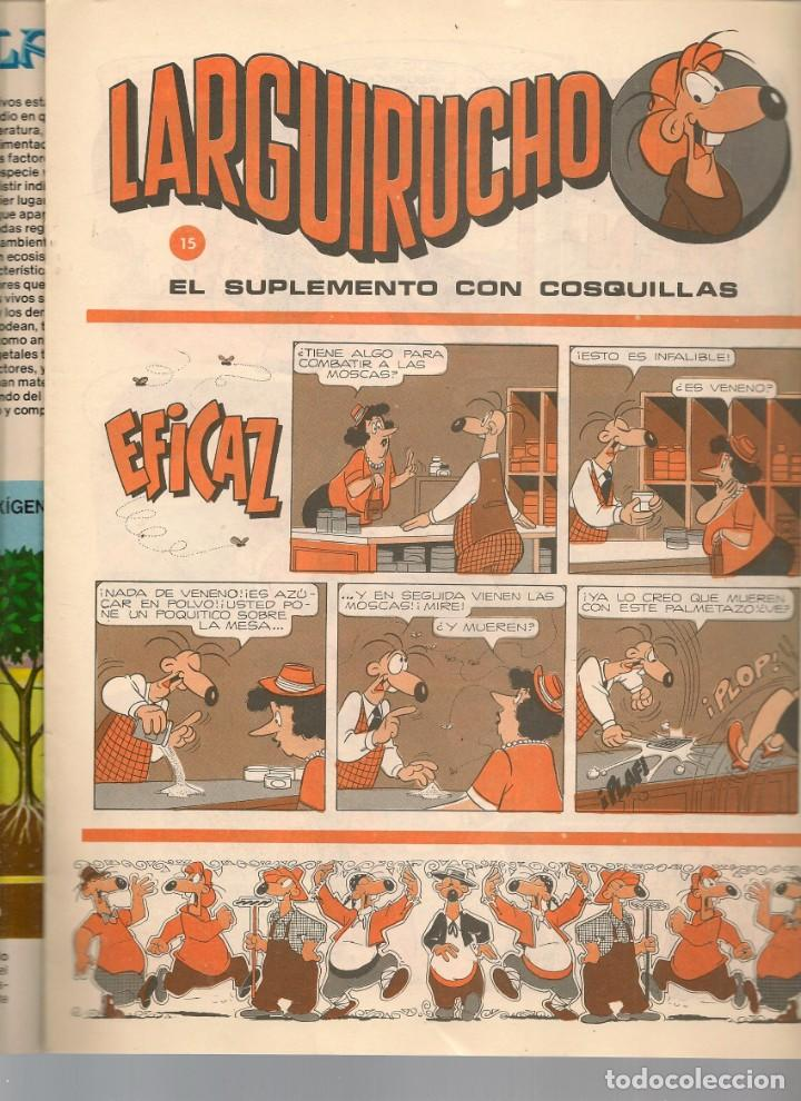 Cómics: REVISTA PETETE. Nº 88. CON SUPLEMENTO LARGUIRUCHO. (B/A57) - Foto 2 - 199244446
