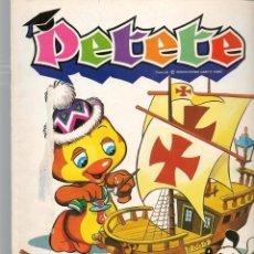 Cómics: REVISTA PETETE. Nº 91. CON SUPLEMENTO PETETE. (B/A57). Lote 199244530