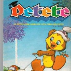 Cómics: REVISTA PETETE. Nº 92. CON SUPLEMENTO PETETE. (B/A57). Lote 199244618