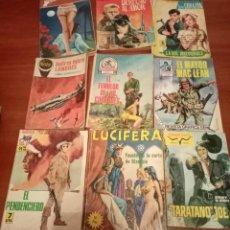 Cómics: LOTE DE 20 BOLSILIBROS LOTE VARIADO, ESTEFANIA, AGENTE FEDERAL, COMBATE, ETCLOTE 43. Lote 199264527