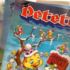 Cómics: REVISTA PETETE. LOTE 16 EJEMPLARES, ENTRE LOS NROS. 2 Y 20. VER DESGLOSE. (B/A57). Lote 199289322