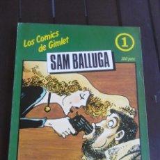 Cómics: SAM BALLUGA - LOS COMICS DE GIMLET - MARIEL - ANDREU MARTIN - ROMÁN GUBERN - 1981 . Lote 199357340