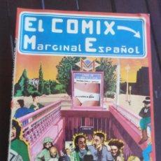 Cómics: EL COMIX MARGINAL ESPAÑOL - PRODUCCIONES EDITORIALES - 1977. Lote 199361710