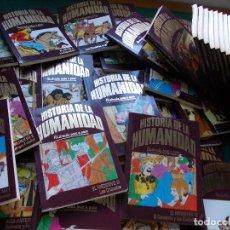 Cómics: HISTORIA DE LA HUMANIDAD ILUSTRADA PASO A PASO COMPLETA 52 TOMOS CLUB INTERNACIONAL DEL LIBRO. Lote 199381440