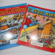 Cómics: EMILIO SALGARI IL RE DEL MARE (2 TOMOS)(ITALIANO) Y99952W. Lote 199388663