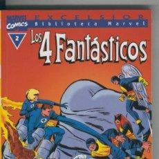 Cómics: BIBLIOTECA MARVEL EXCELSIOR : LOS 4 FANTASTICOS NUMERO 02. Lote 199743205