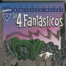 Cómics: BIBLIOTECA MARVEL EXCELSIOR : LOS 4 FANTASTICOS NUMERO 03. Lote 199743570