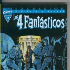 Cómics: BIBLIOTECA MARVEL EXCELSIOR : LOS 4 FANTASTICOS NUMERO 11. Lote 199743652