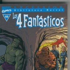 Cómics: BIBLIOTECA MARVEL EXCELSIOR : LOS 4 FANTASTICOS NUMERO 00-2. Lote 199743885