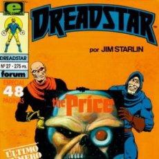 Cómics: DREADSTAR Nº 27 (ÚLTIMO NÚMERO). Lote 199757243