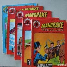 Cómics: MANDRAKE 4 NUMEROS Y 1 CORRIGAN. Lote 199778022