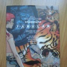 Cómics: FÁBULAS BILL WILLINGHAM EDICIÓN DE LUJO LIBRO 1 VÉRTIGO. Lote 199778740