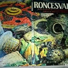 Cómics: COMIC: RONCESVALLES. IMAGENES DE LA HISTORIA - ANTONIO HERNANDEZ PALACIOS - EDICIONES IKUSAGER 1979. Lote 199779263