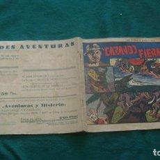 Cómics: CAZANDO FIERAS VIVAS NUMEOR UNO 1 ORIRINAL BUEN ESTADO CJ 14. Lote 199781640