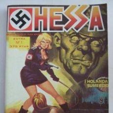 Cómics: HESSA EXTRA Nº 1 - RELATOS GRAFICOS PARA ADULTOS - 1987 - 4 COMICS EN UN TOMO. Lote 199790688