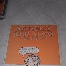 Cómics: NO SER Y SER ALGO (SELECCION DE LA TIRA COMICA: INSIDE WOODY ALLEN) PRIMERA EDICIÓN 1979. Lote 199860938