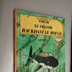 Comics : LES AVENTURES DE TINTIN: LE TRESOR DE RACKHAM LE ROUGE / CASTERMAN - EDICIÓN EN FRANCÉS. Lote 200154630