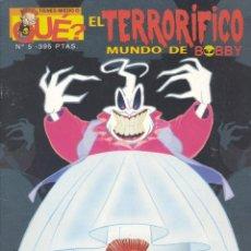 Cómics: EL TERRORIFICO MUNDO DE BOBBY. OSCAR´S STUDIO, 1998. Lote 200167678
