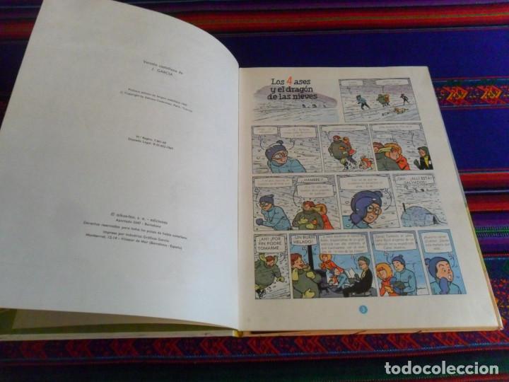 Cómics: LOS 4 ASES Y EL DRAGÓN DE LAS NIEVES. OIKOS TAU 1ª EDICIÓN 1969. - Foto 3 - 139824362