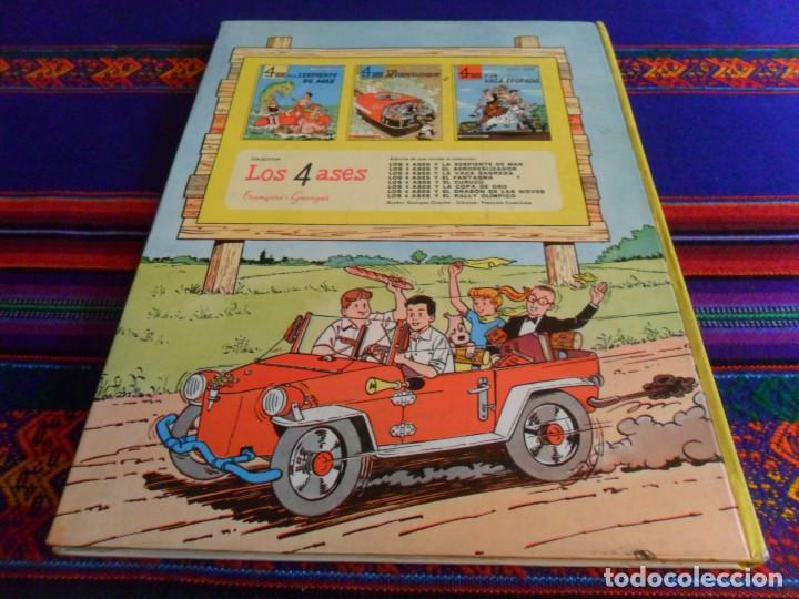 Cómics: LOS 4 ASES Y EL DRAGÓN DE LAS NIEVES. OIKOS TAU 1ª EDICIÓN 1969. - Foto 4 - 139824362