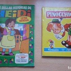 Cómics: LAS BELLAS HISTORIAS DE HEIDI Nº1 - PINOCHO COLECCIÓN PARA LA INFANCIA. Lote 200300010
