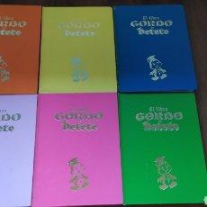 Fumetti: EL LIBRO GORDO DE PETETE COMPLETA 6 TOMOS.. Lote 200363883