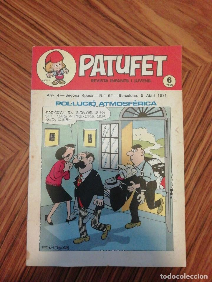 Cómics: 6 X Patufet. Revista Infantil y Juvenil. Gener - Abril 1971 - Foto 2 - 200585980