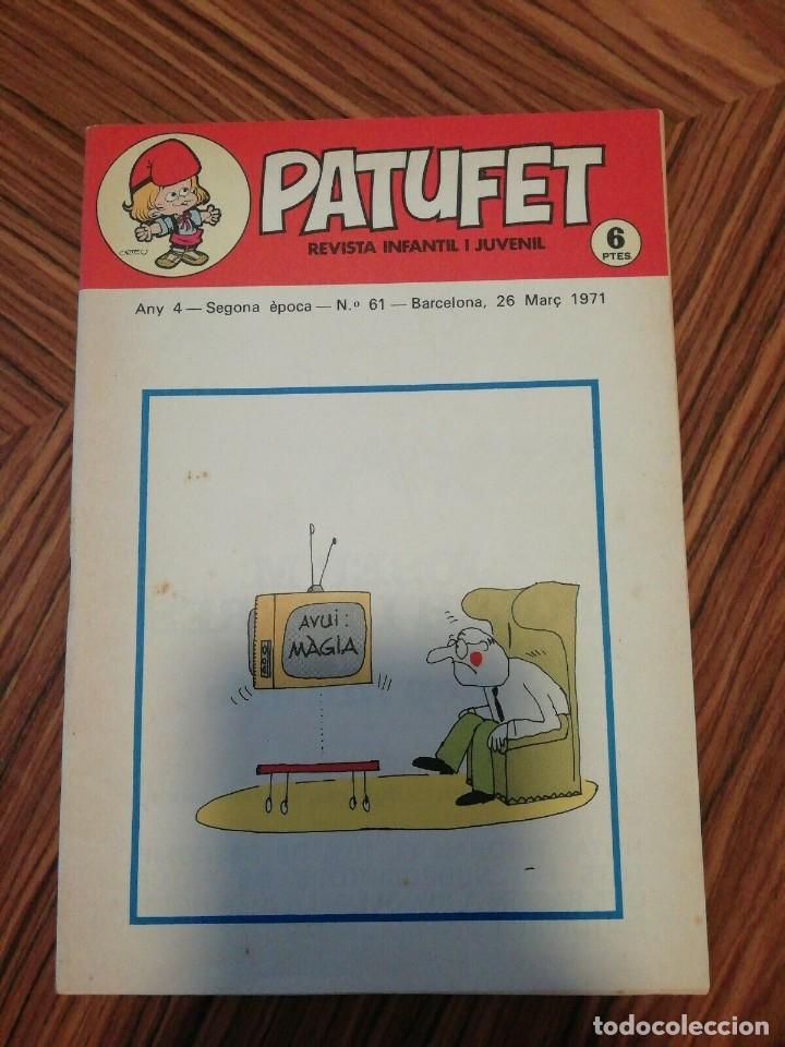 Cómics: 6 X Patufet. Revista Infantil y Juvenil. Gener - Abril 1971 - Foto 3 - 200585980